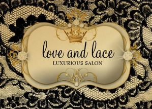 Lace de Luxe Ciao Bella Metallic Gold Appointment Business Cards