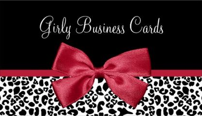 Girly business cards girly business cards tips kotaksurat emerald green business cards choice image card design reheart Gallery