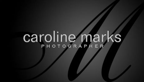Elegant Black Monogram Photography Template Business Cards