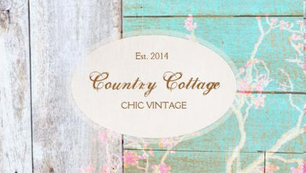Rustic Floral Country Wood Chic Mint Vintage Boutique Business Cards