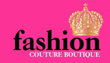 Bold Hot Pink Couture Fashion Boutique Gold Tiara Crown Business Cards