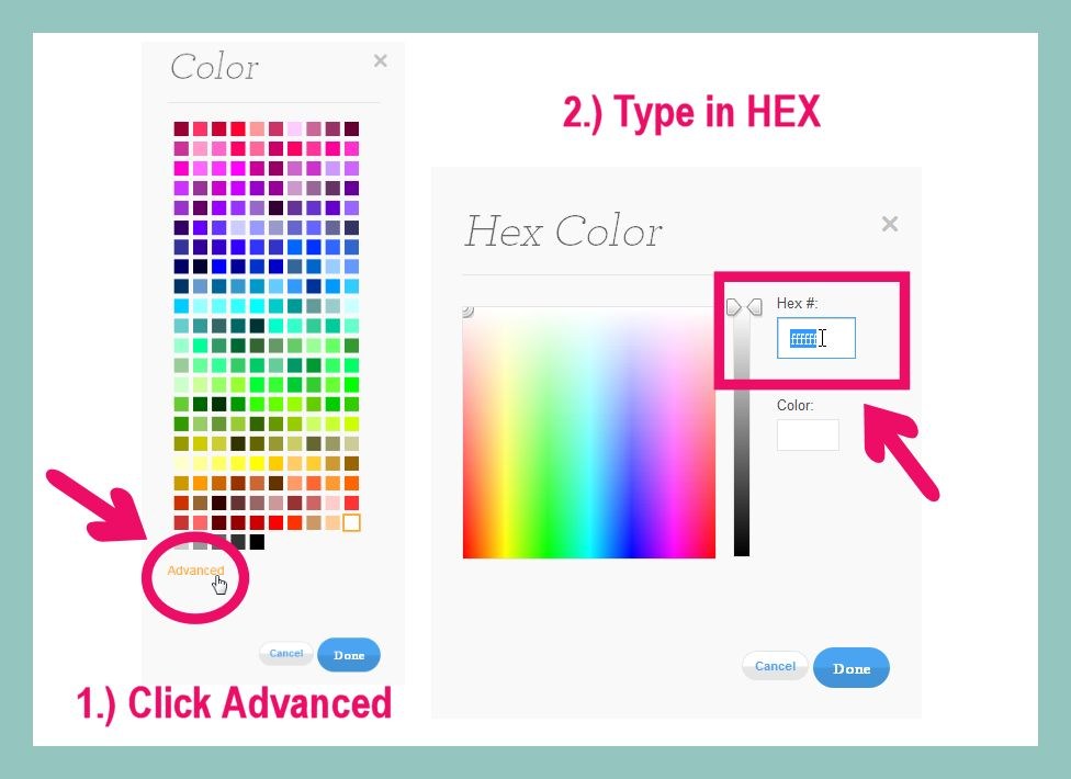 Zazzle Tutorial How To Change The Background Color On Business Cards Advanced
