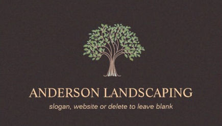 Y FLORIST AND LANDSCAPING BUSINESS CARDS - y Business Cards on garden logos design, garden club logos, garden park logos, garden nursery logos,
